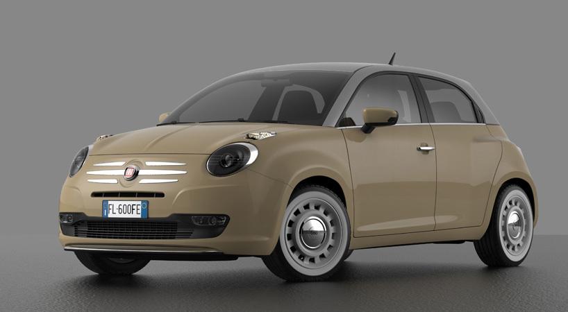 Fiat 60 >> Fiat 600 Design Concept (15/17)