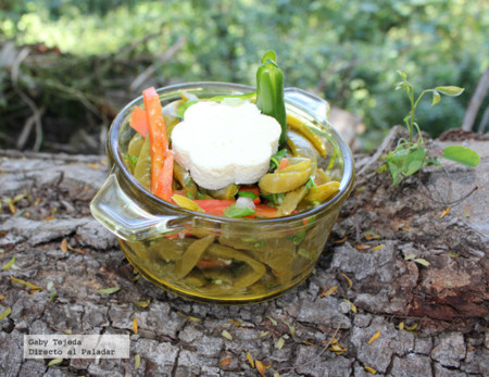 Receta: Ensalada mexicana de nopales