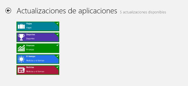 Actualizaciones Apps Microsoft