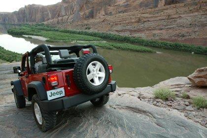 El Jeep Wrangler es el menos contaminante, según un estudio