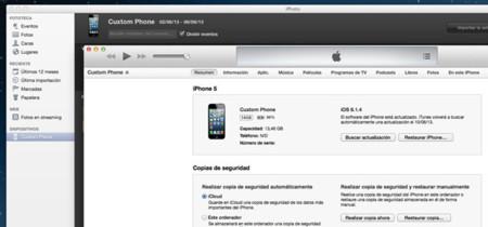 Desactiva la apertura automática de iTunes y iPhoto al conectar tu dispositivo iOS