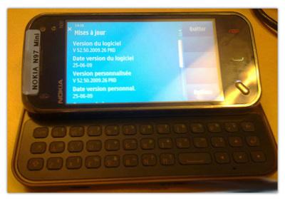 Nokia N97 'Mini' en fotos, dando forma a un interesante rumor