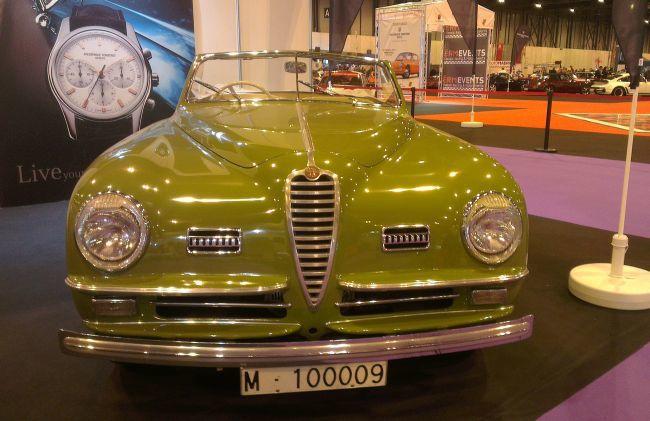 Alfa Romeo en stand Frederique Constant en Classicauto 2013