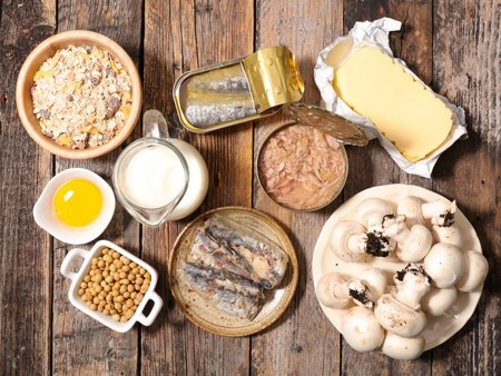 vitamina d en la dieta