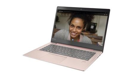 Lenovo Ideapad 520S-14IKB, un portátil básico que, en color rosa, se queda 290 euros más barato en PcComponentes