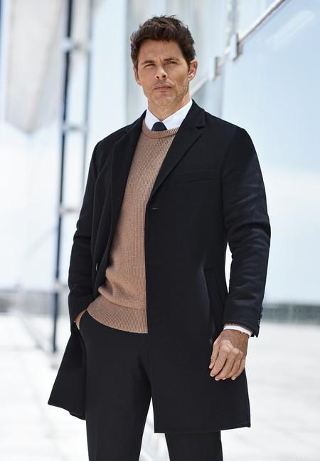 James Marsden y la elegante dualidad de Hugo Boss con sus básicos para otoño