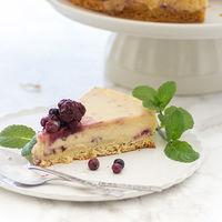 Tarta mágica de vainilla y fresas: receta