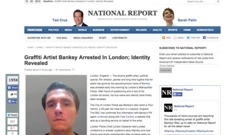 Cazadores de Fakes: no, no han detenido a Banksy