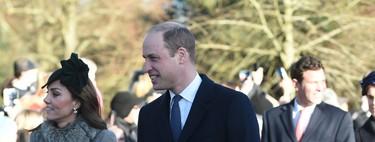 Así de ideal ha lucido Kate Middleton el día de Navidad junto a la familia real británica