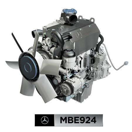 Daimlerm2 Mbe924 Sticker 20x20cm