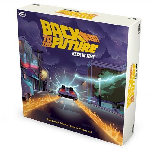 Funko - Back to the Future - Back in Time Juego de Estrategia
