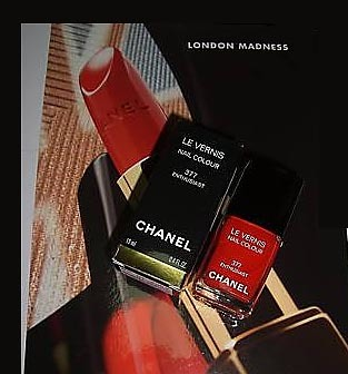Chanel presenta su paleta London Madness Collection