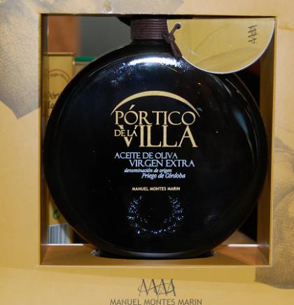 Pórtico de la Villa, aceite de oliva virgen extra gourmet