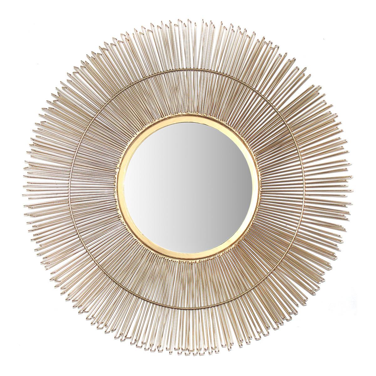 Espejo de pared decorativo redondo Lotus El Corte Inglés