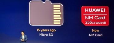 Huawei dice adiós a las microSD y hola a las NM Cards, un nano-formato más compacto