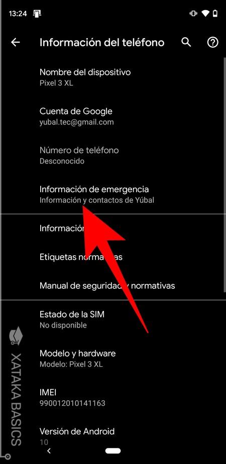 Info De Emergencia