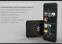 BlackBerry London, el primer teléfono con  BlackBerry 10