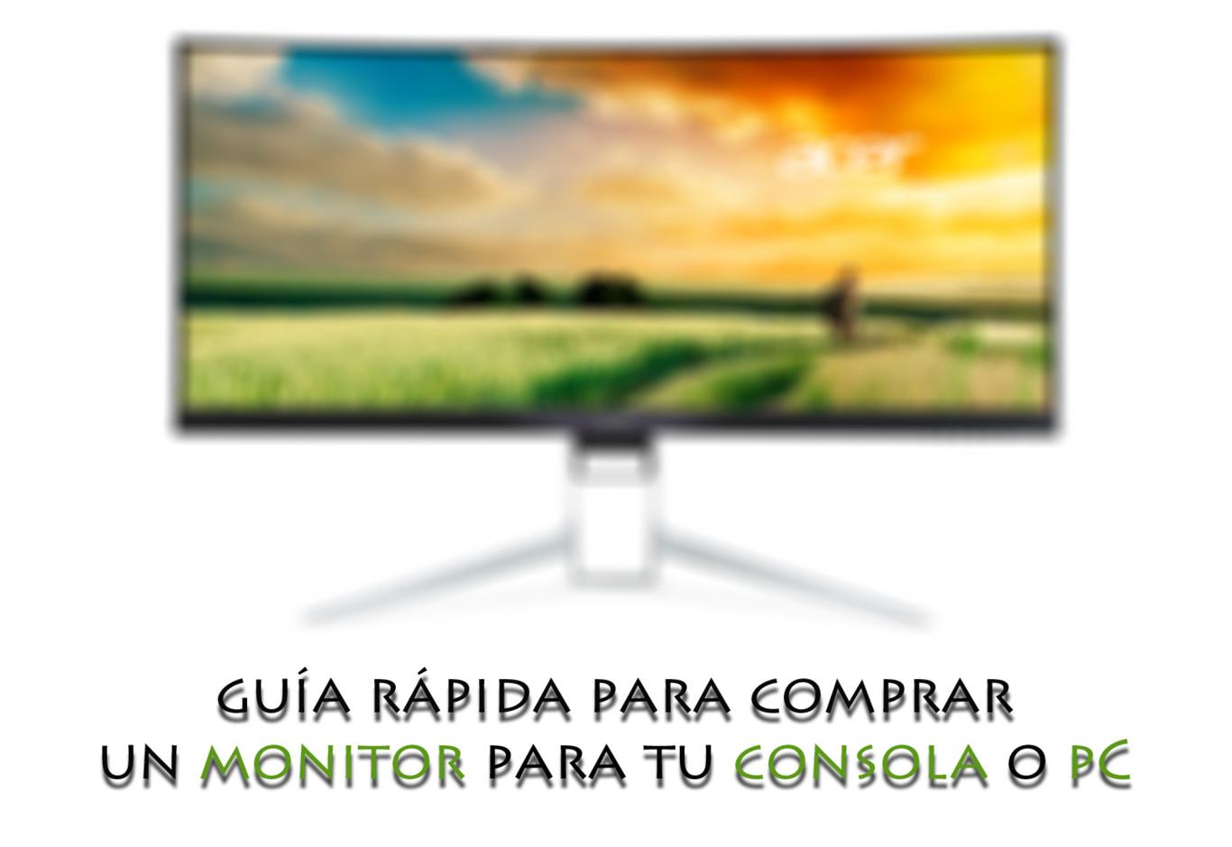 1bc66e84cd6 Te damos algunos consejos para buscar el monitor ideal para usar con tu PC  o consola