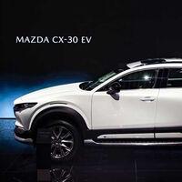 El Mazda CX-30 se transforma en SUV eléctrico para China: 143 hp y hasta 400 km por carga