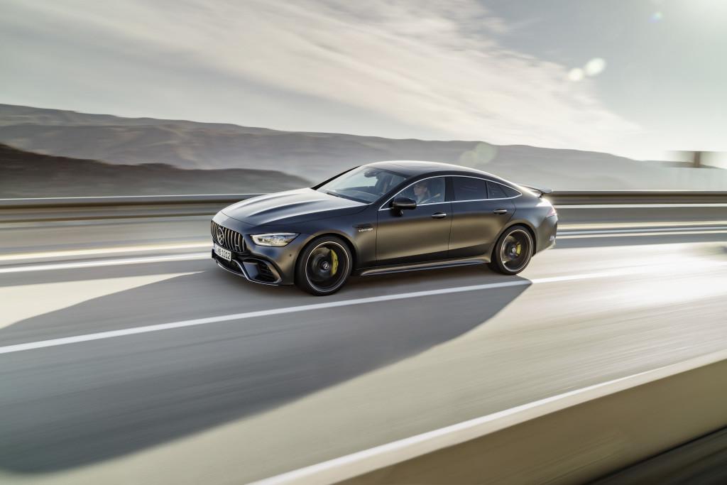 Foto de Mercedes AMG GT 4-Door Coupé (5/12)