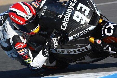 MotoGP 2011, Marc Márquez sigue entrenando en Jerez