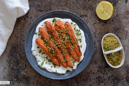 Zanahorias Tandoori Al Horno Con Yogur