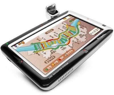 TTool, con pantalla de 7 pulgadas y GPS