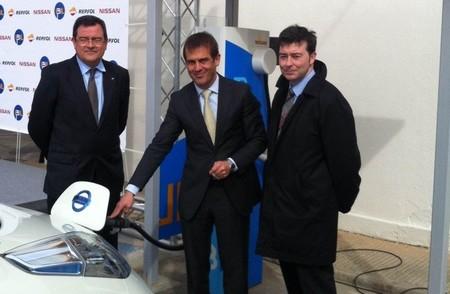 IBIL y Nissan siguen instalando puntos de recarga rápida, esta vez, en Valencia