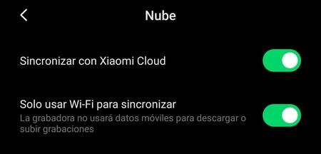 Copia Seguridad Cuenta Xiaomi