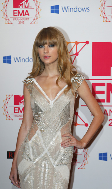 Taylor Swift MTV EMAS 2012
