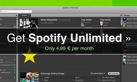 Spotify diversifica su oferta de servicios con Open y Unlimited