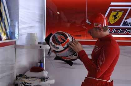 Un inoportuno error de Kimi Raikkonen