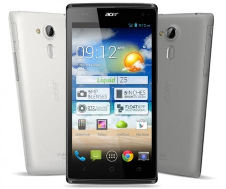 Acer Liquid Z5, disponible en México el nuevo smartphone de Acer