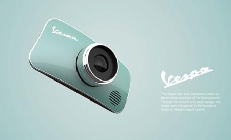 Cómo sería una cámara de fotos digital Vespa