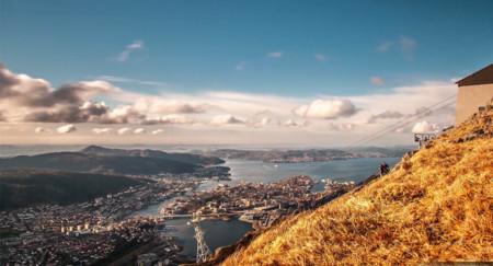 Time lapse: Bergen, la puerta a los fiordos