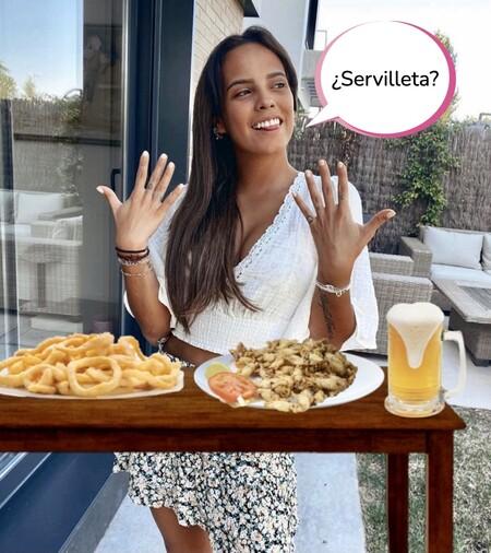 La enfermedad de Gloria Camila por empacharse a base de fritos: acaba en el hospital tras ponerse fina a calamares y puntillitas
