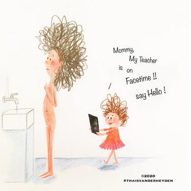 """""""Mamá en cuarentena"""", las graciosas ilustraciones de una madre sobre el confinamiento con las que nos identificamos"""