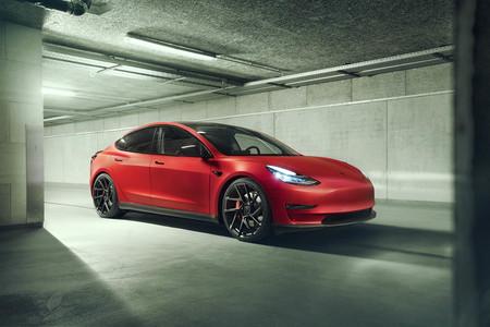 Novitec saca músculo al Tesla Model 3, pero también quiere hacerle un coche eléctrico más ahorrador