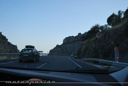 Toyota Prius en el paso de Despeñaperros