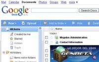 Google Docs, la mejor aplicación web del 2009