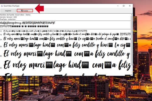 Así puedes instalar y agregar más tipografías o fuentes de texto en Windows 10 para PC