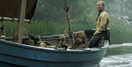 Tyrion y Jorah Mormont