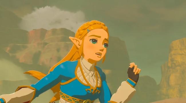 Zelda Breath Of The Wild Zelda