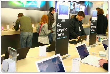 """""""Go Beyond Vista"""": La campaña de Apple contra Windows Vista en las Apple Stores"""