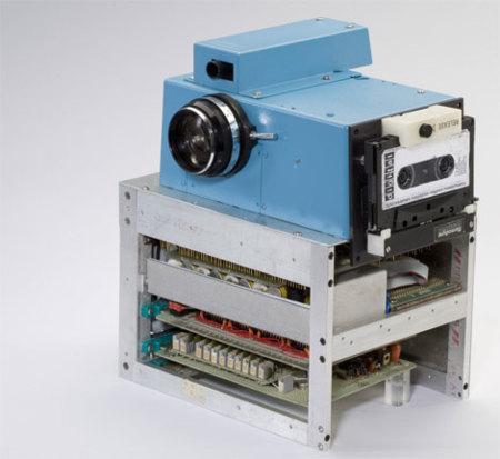 Imagen de la semana: la primera cámara digital