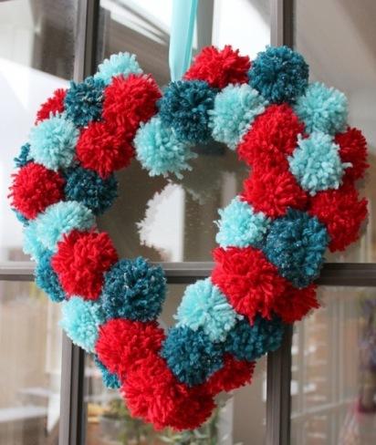 pompones corazon 2
