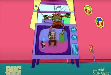 El videojuego que nunca existió de 'Los Simpson': aparece una demo técnica de 'Bug Squad!' para Dreamcast