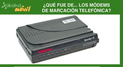¿Qué fue de los módems de marcación telefónica? Los pitidos de la nostalgia