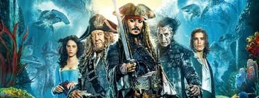 De la Perla Negra a Salazar: todas las películas de 'Piratas del Caribe' y cómo han ido de más a menos