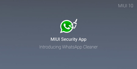 WhatsApp Cleaner, la nueva función para móviles Xiaomi que llega con MIUI 10
